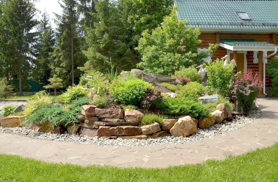 Landscape Gardening Ideas For Slopes Only Landscape