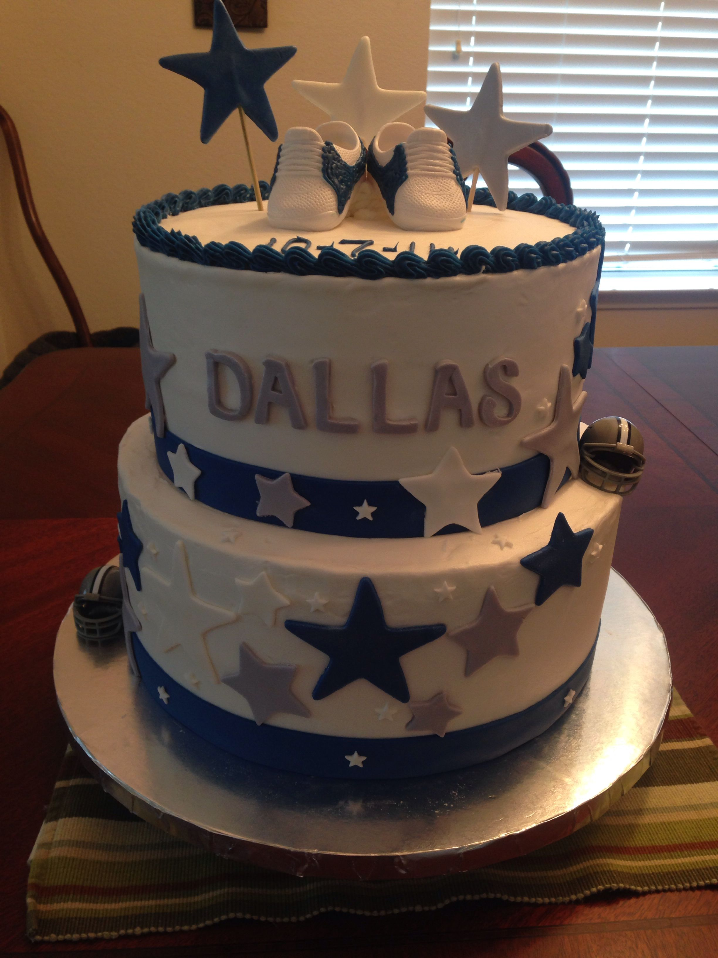 Dallas Cowboy Theme Cake For A Baby Shower Made By The Best