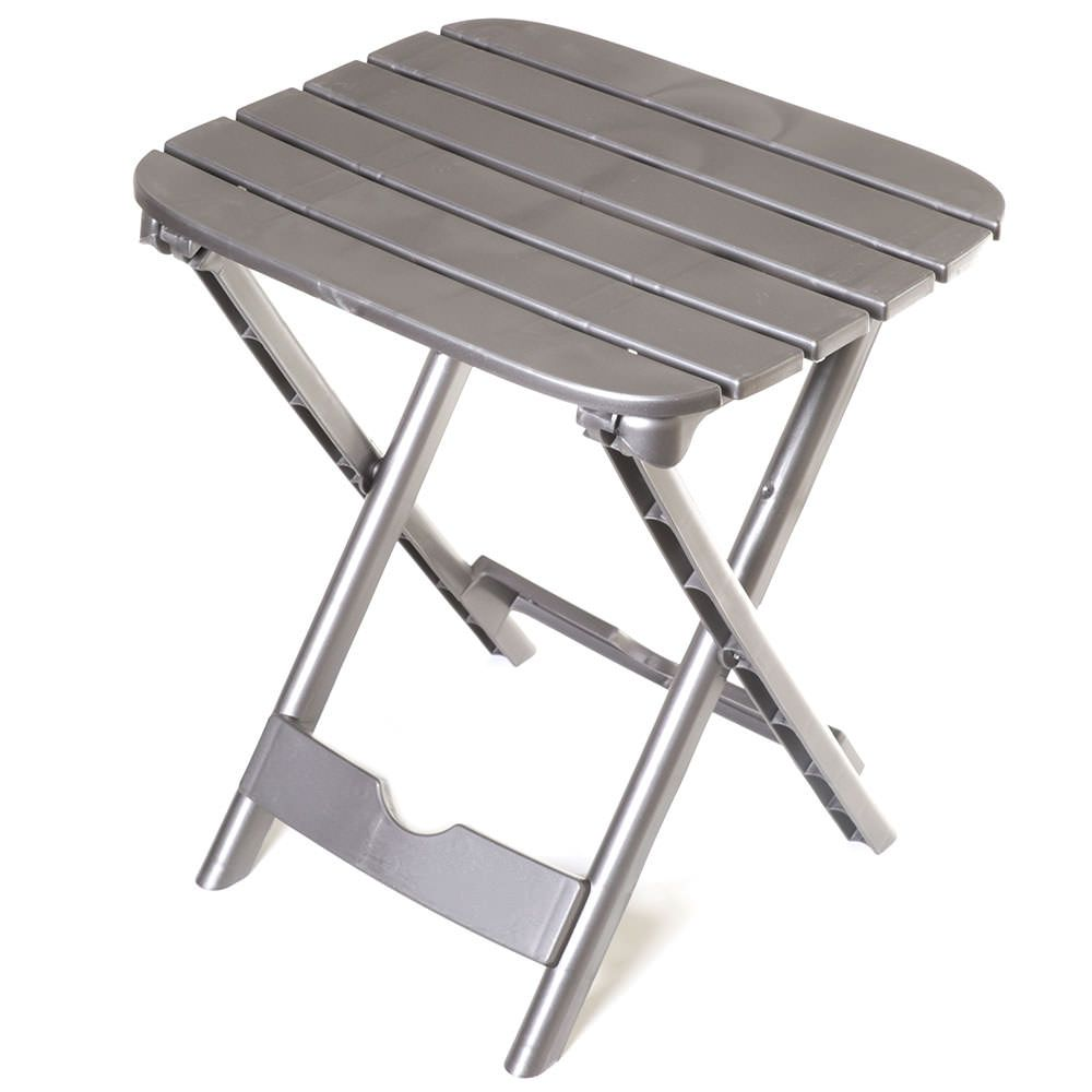 Quik Fold Tag Along Table Charcoal