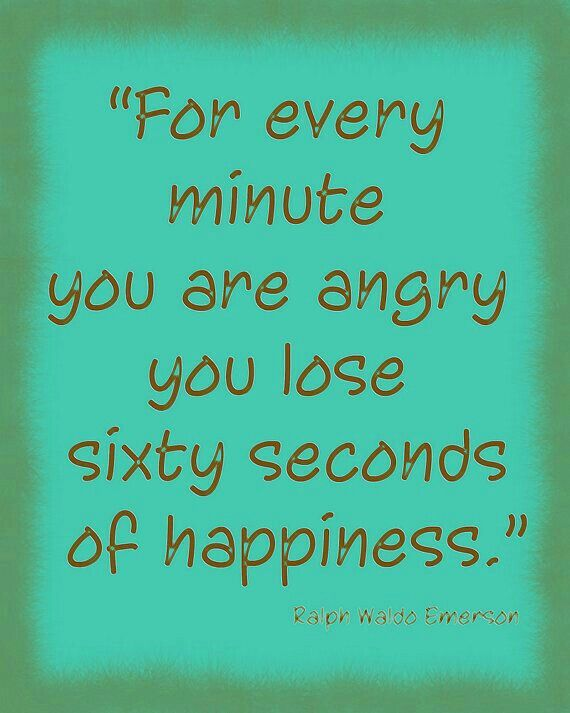 Never Hold Onto Anger Or Bitterness These Are Negative Emotions And