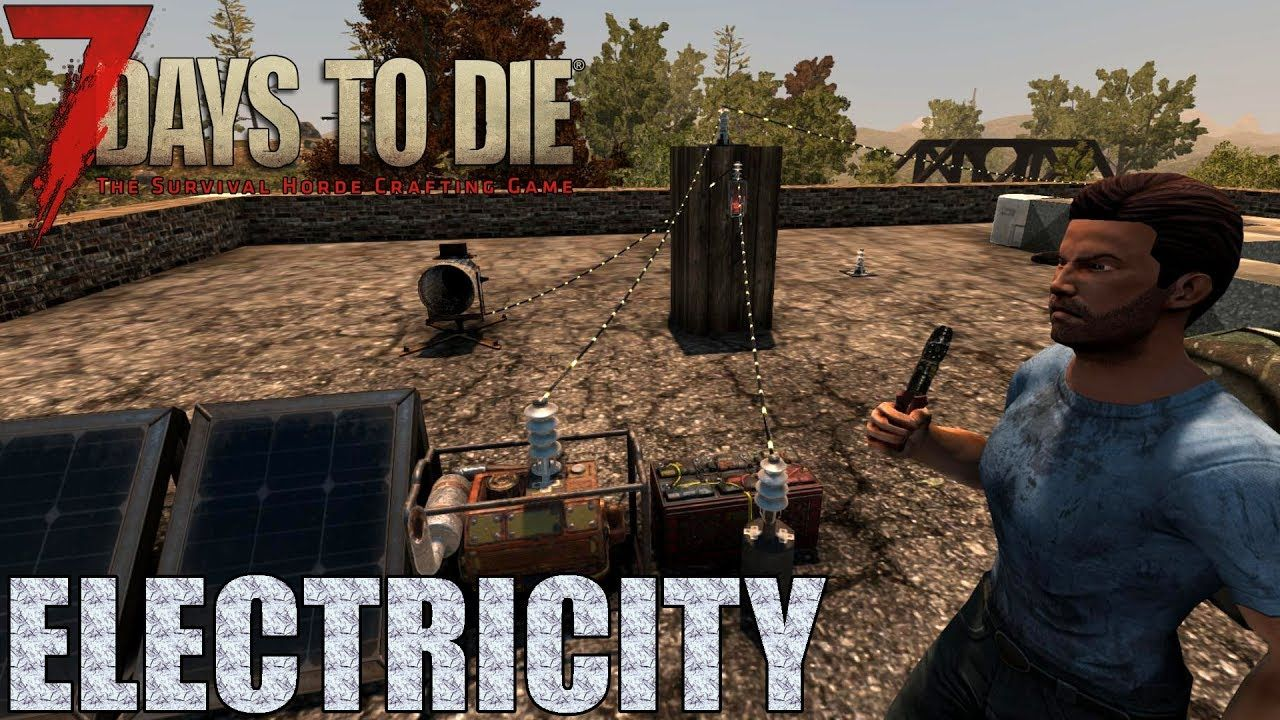 7 Days To Die Electricity Generators Wire Tool Relays Alpha Power Relay Minecraft 16
