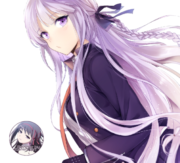Kyouko Kirigiri Render By Chiyo Orihara D8pfvn2 Png 600 542 Anime Purple Hair Manga Girl Manga Anime
