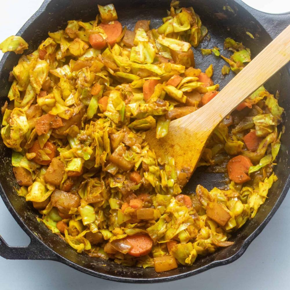 Recipe Ethiopian Cabbage