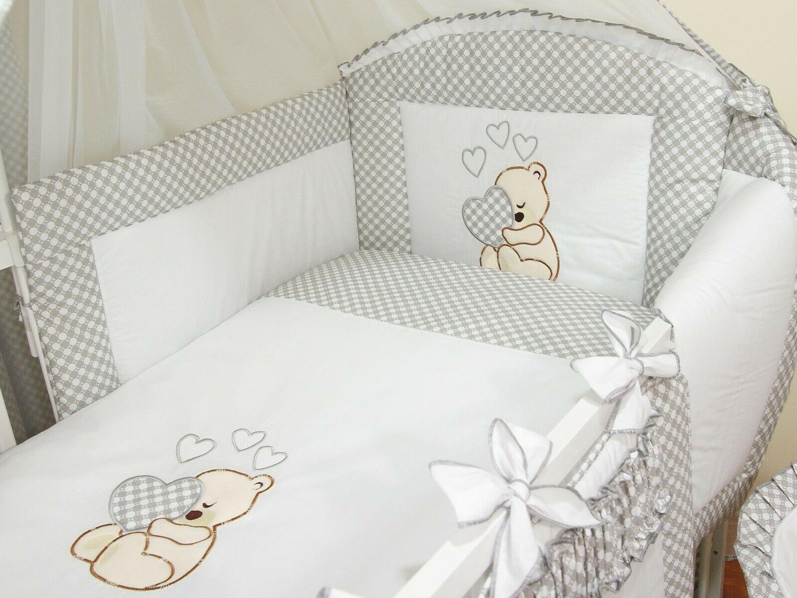 Details Zu 3tlg 70x140 Babybettwasche Bettset Baby Bettwasche