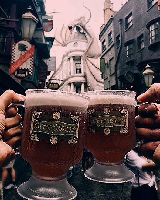 Photo of Anyone fancy a Butterbeer? (IG Cred: @ cintacii)