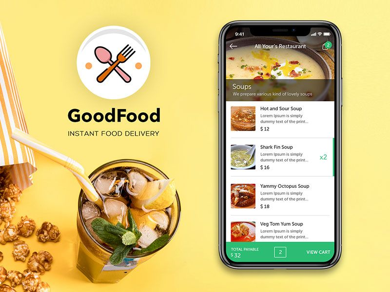 Goodfood ondemand food delivery restaurant app