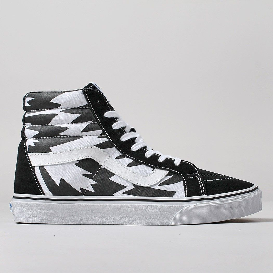 Vans X Eley Kishimoto Sk8 Hi Reissue Shoes FlashWhite