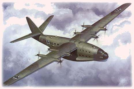 There were at least nine variants of the Do P.192/Do 214 planned, with various defensive and offensive weapon options. and various engine options Full turboprop or forward turboprop and jet engined after proposals were designed.with a very Range of 5500mi .  By the end of 1943, it was realized that long-range flying boats were not needed due to the worsening war situation, and thus the Do 214 project was canceled.