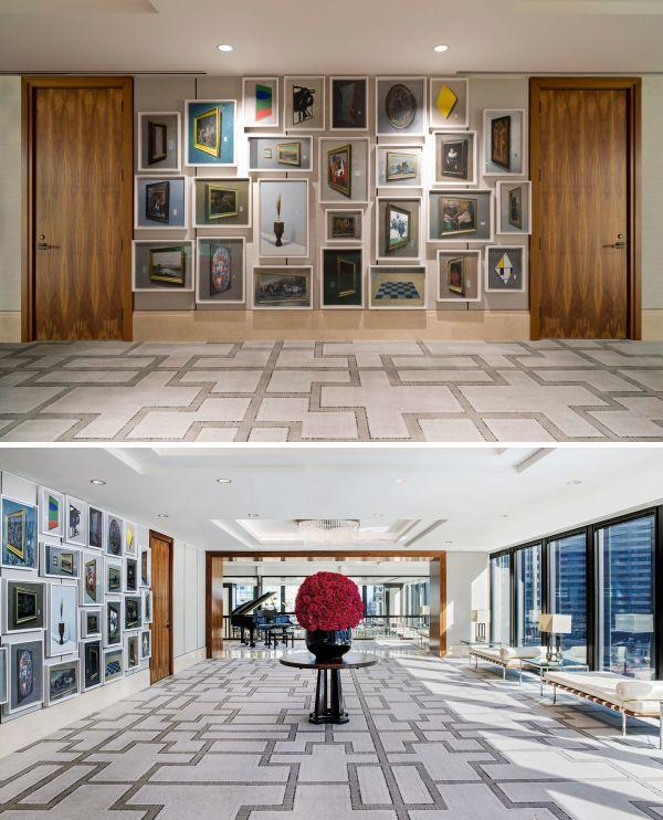 Multicanvas Installations by David Klamen at The Langham