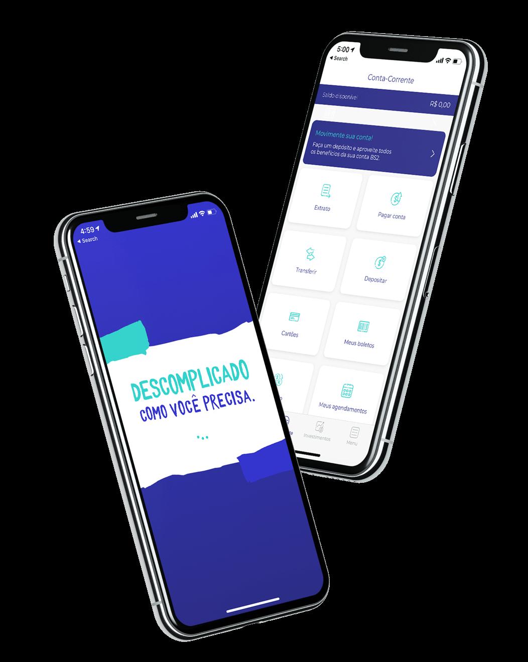 Banco Bs2 Tem Mais Quem Tem Bancada Aplicativos Android Pagamento De Contas