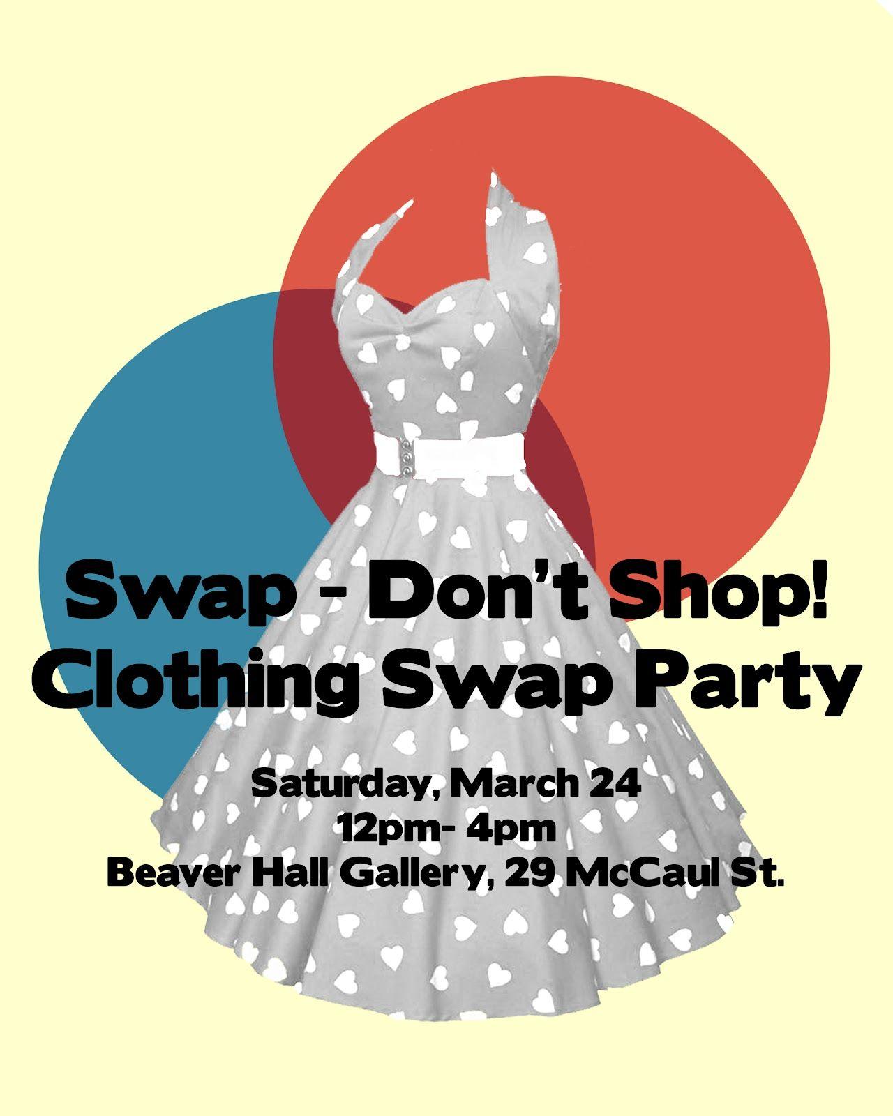 swap don t shop autumn clothing swap flyer clothing swap flyers 12 clothing swap flyer