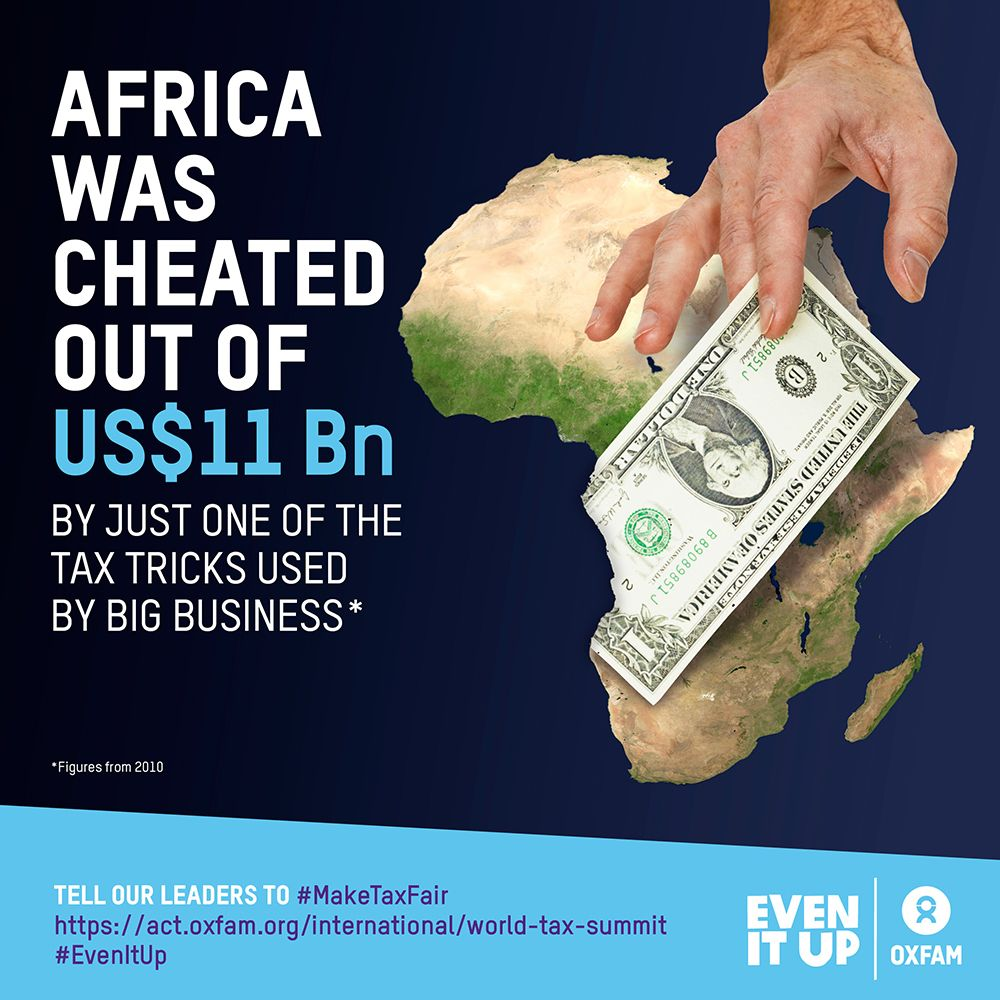If we #MakeTaxFair #Ebola-hit countries could have more money to spend on #healthcare: http://oxf.am/ZAhx #EvenItUp #WEFAfrica #inequality #G7