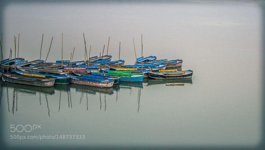 Popular on 500px : Boats in River Ganga .jpg by ShashankMishra