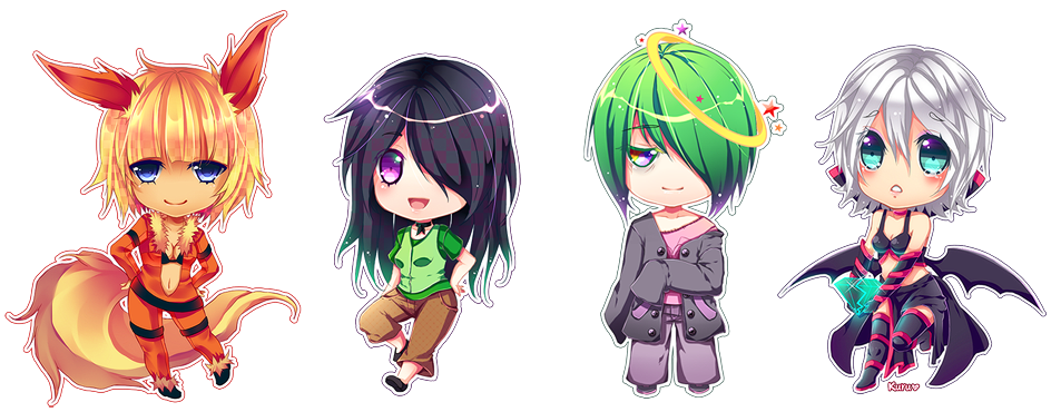 Chibis batch 03 by on