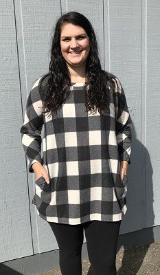 Plaid Pocket Dress 5