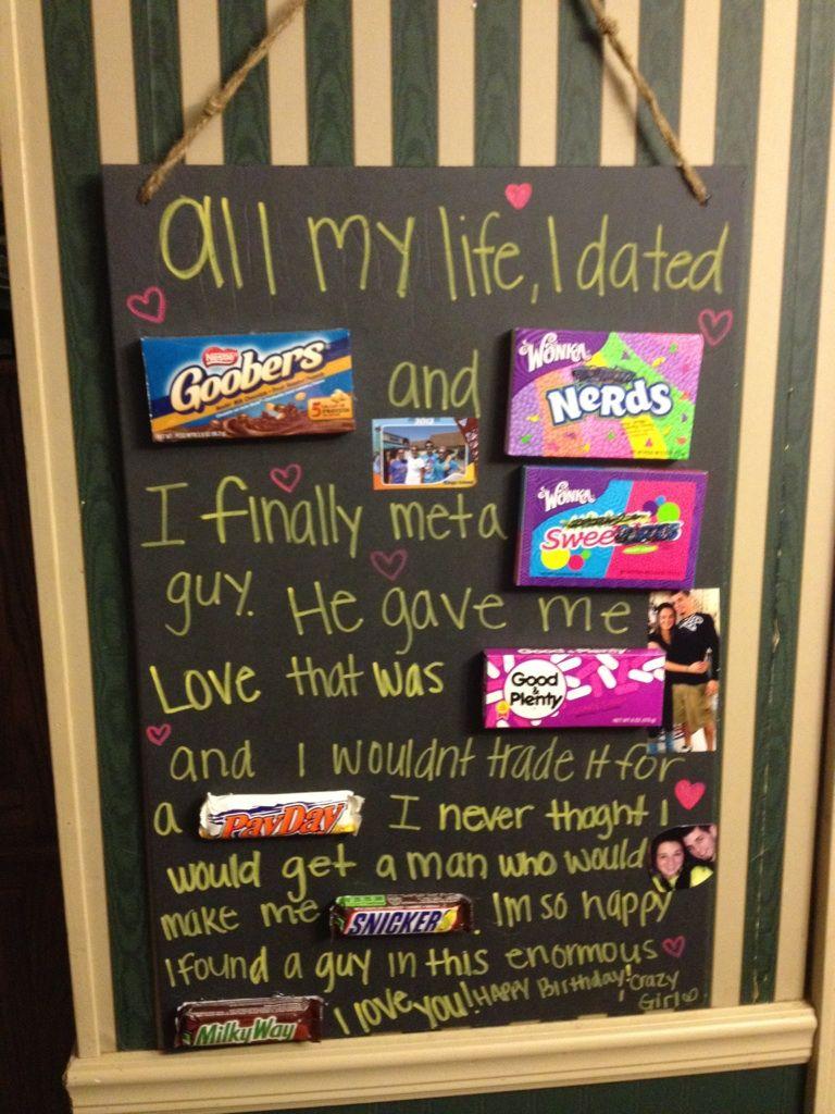 Sam's birthday poem to her boyfriend Boyfriend birthday