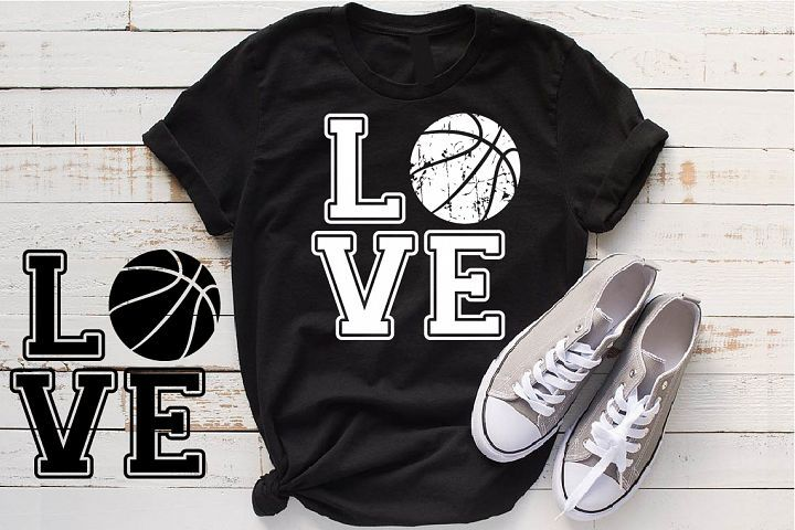 Download Love Basketball svg valentine's day Basket ball 1164S ...