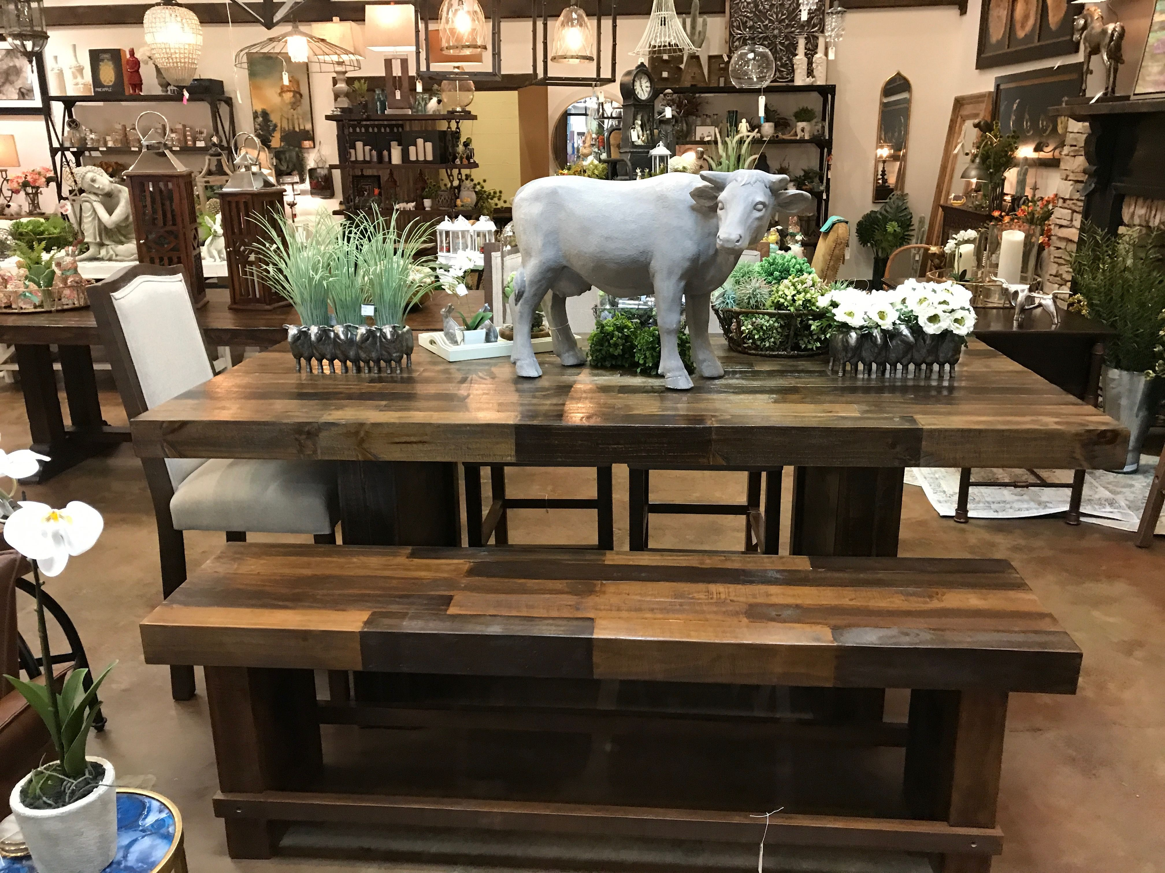 Counter height table rustic dining rustic dining table