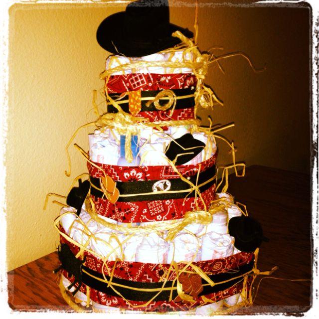 Cute diaper cake idea...booperposh?