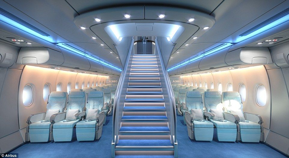New A380 Cabin Squeezes 11 Seats Into Each Row In Economy Airbus