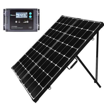 Renogy 200 Watt Eclipse Monocrystalline Portable Suitcase Off Grid Solar Power Kit With Voyager Waterproof Charge Controller Rng Kit Stcs200mb Voy20 The Home In 2020 Solar Power Kits Solar Panels Off Grid Solar Power