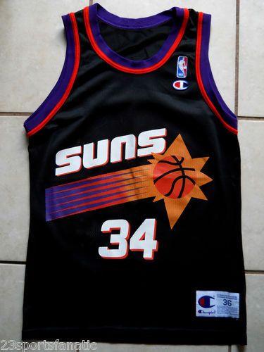 new styles 306e3 36315 Phoenix Suns Charles Barkley Jersey Size 36 Champion | eBay ...