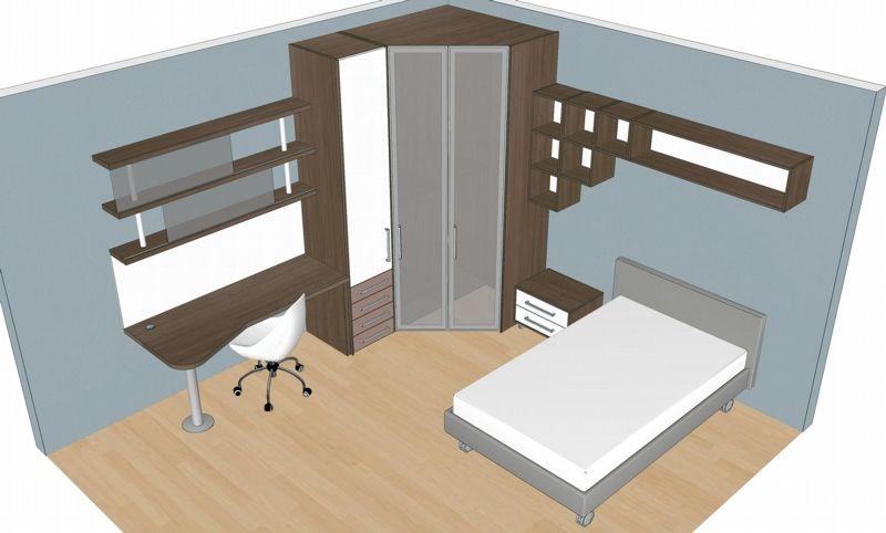 Badroom centri camerette specializzati in camere e camerette per ragazzi cameretta con letto - Piccole camere da letto ...