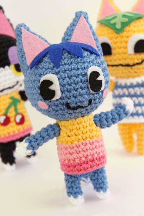Animal Crossing Cat Crochet Pattern By Gemugurumi On Etsy Animal