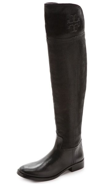 d743fedfc94 Tory Burch Simone Over the Knee Flat Boots