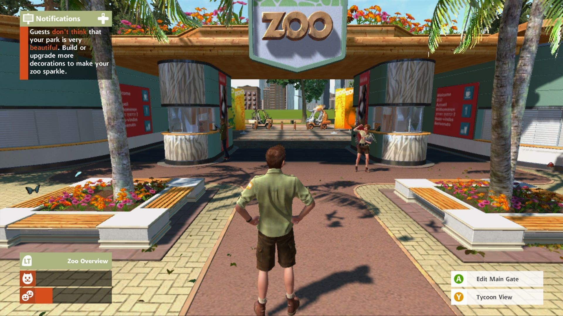 Zoo Tycoon Review Games Asylum Zoo Xbox One Games Games For Kids