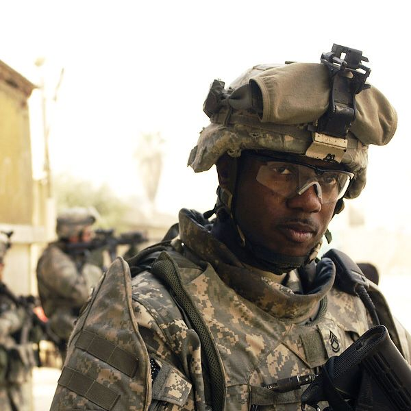 Black Soldier Afghanistan War Sergeant First Class | Soldier, African  american, Strong black man