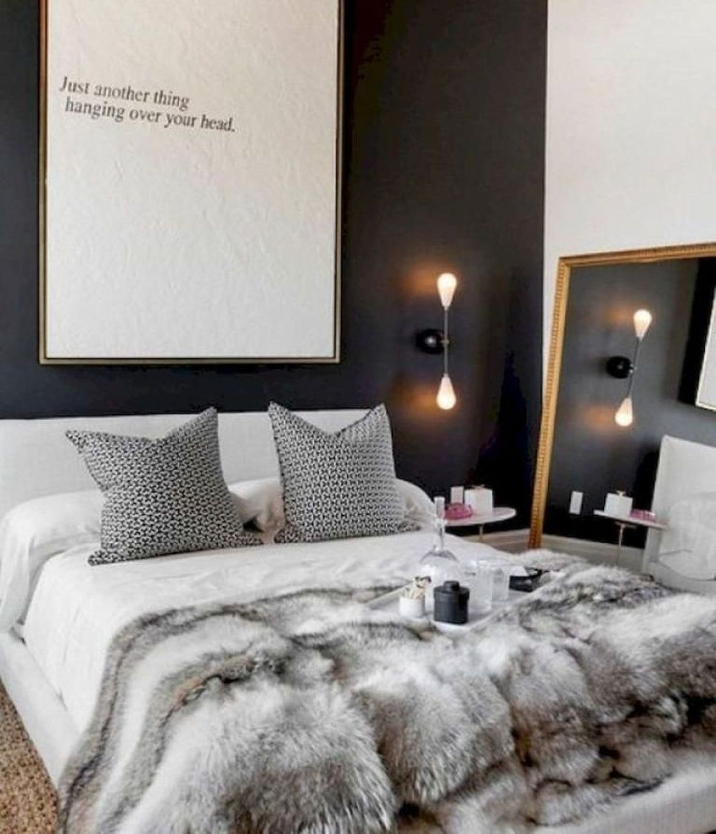 Nice 49 Cute Couple Apartment Decorating Ideas Apartment Bedroom Decor Bedroom Interior Small Apartment Bedrooms