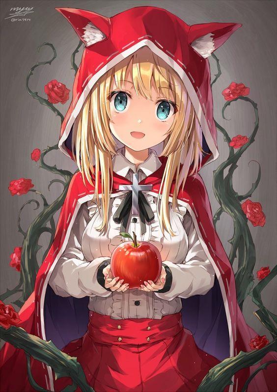 Little Red Hood Ruby Mobile Legends Gadis Anime Gadis Anime Kawaii Karakter Animasi