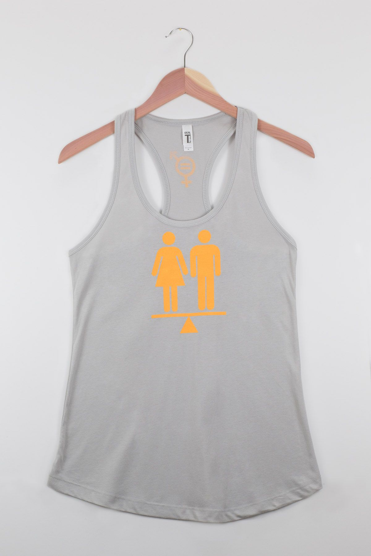 80e2c89aa6579 Equality Tank Silver Orange Equality Shirt