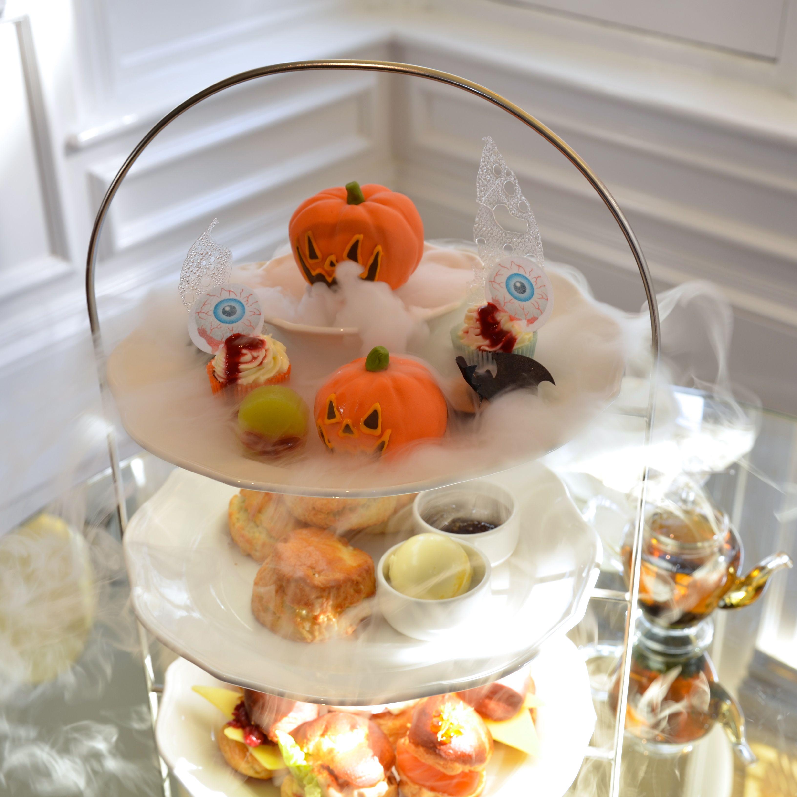 Halloween Afternoon Tea At The Ampersand Hotel, Kensington