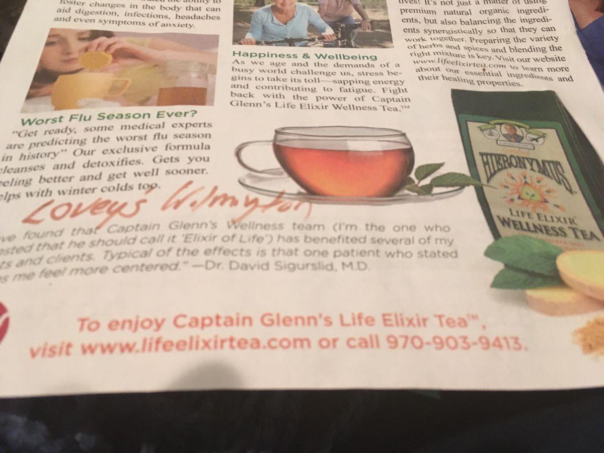 Life Elixir Tea In