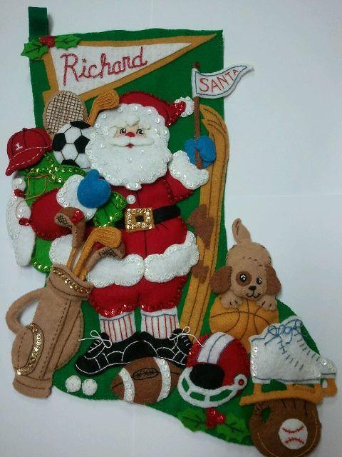 Sports Santa for Richard