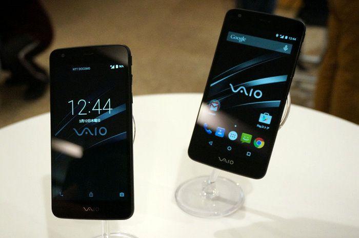VAIO released the first smartphone VA-10J, 5 inches screen likeness Nexus 4