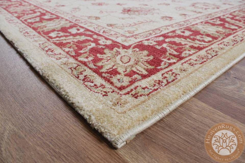 Windsor Win03 classic carpet, beige, 100 polypropylene ID AS - wohnzimmer rot grau beige