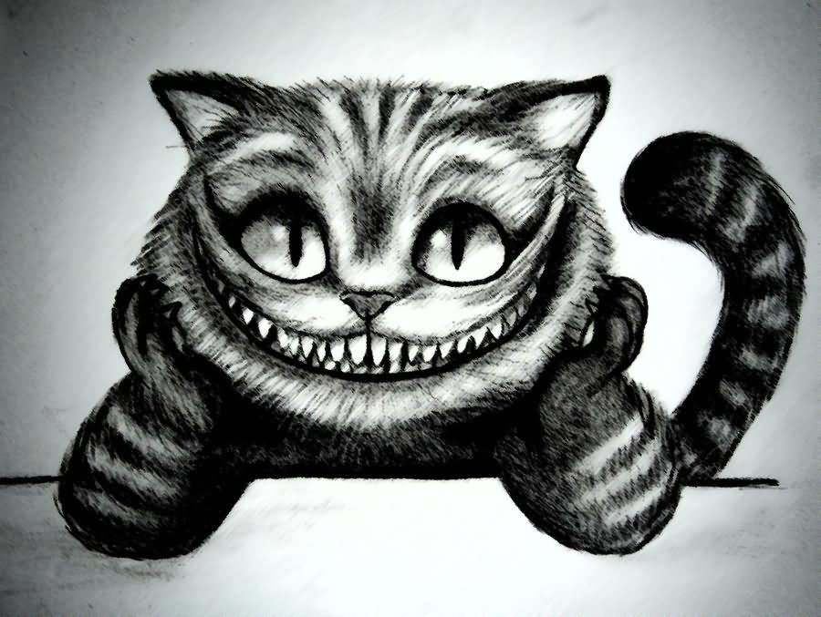 Cheshire Cat Smile Tattoo Design 8 cheshire cat tattoo ...