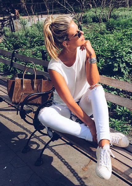 9bb7fff538 Fashion Tips  6 Maneiras Estilosas de Usar a Sua Camiseta Básica ...