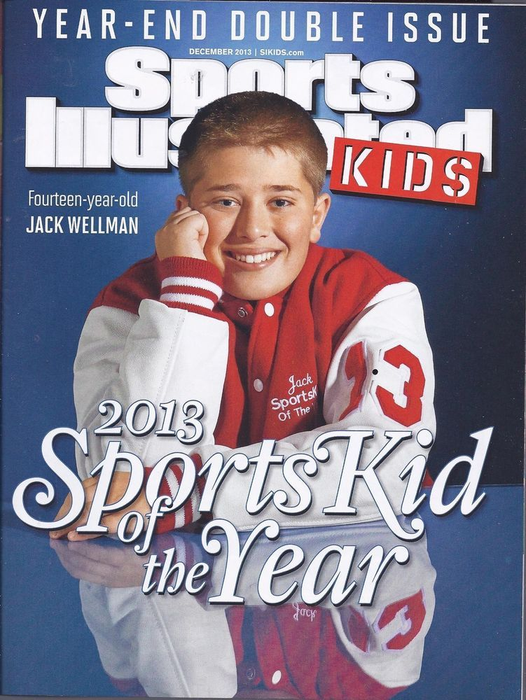 Jack Wellman Sportskid of Year Sports Illustrated For Kids