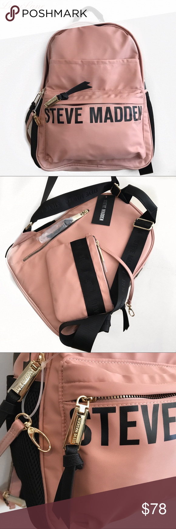 b2339aeb0c23 STEVE MADDEN PINK BACKPACK 🔥🔥🔥 Hot!🔥🔥🔥 Cute pink backpack by ...