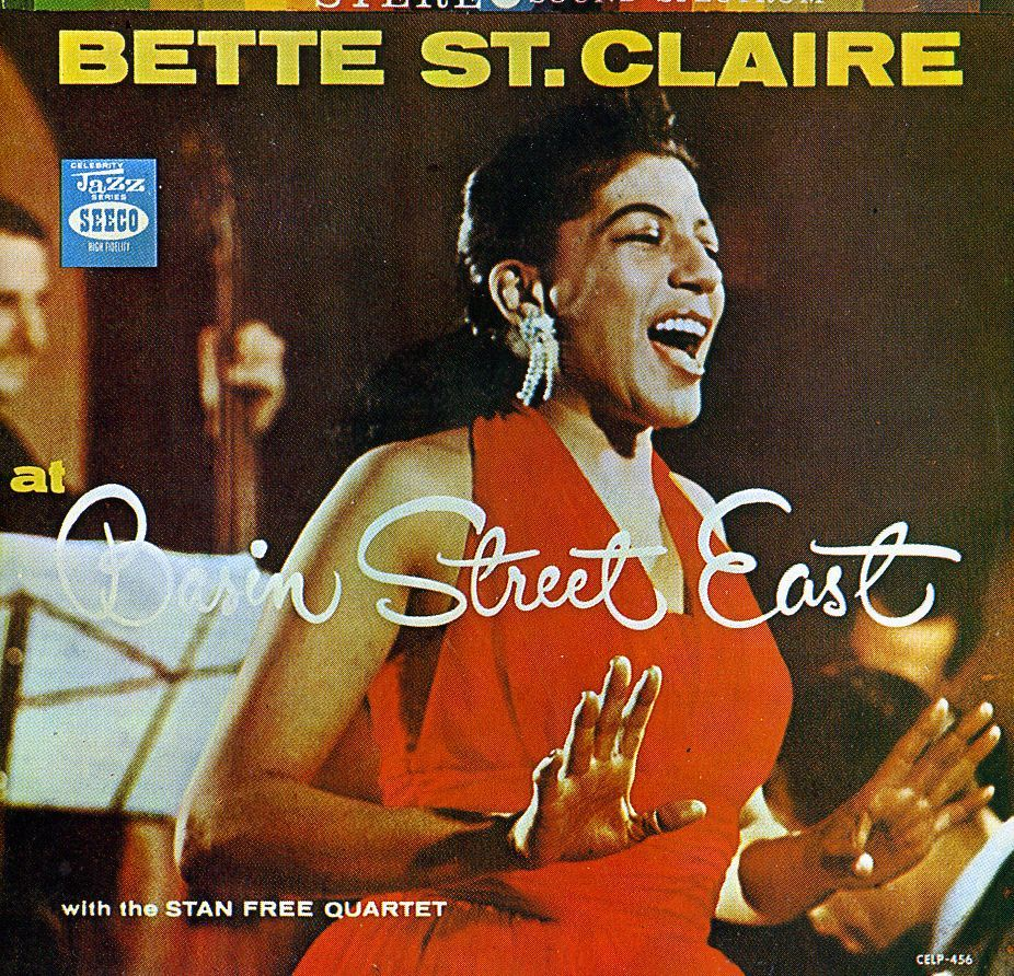 Bette St. Claire - At Basin Street East