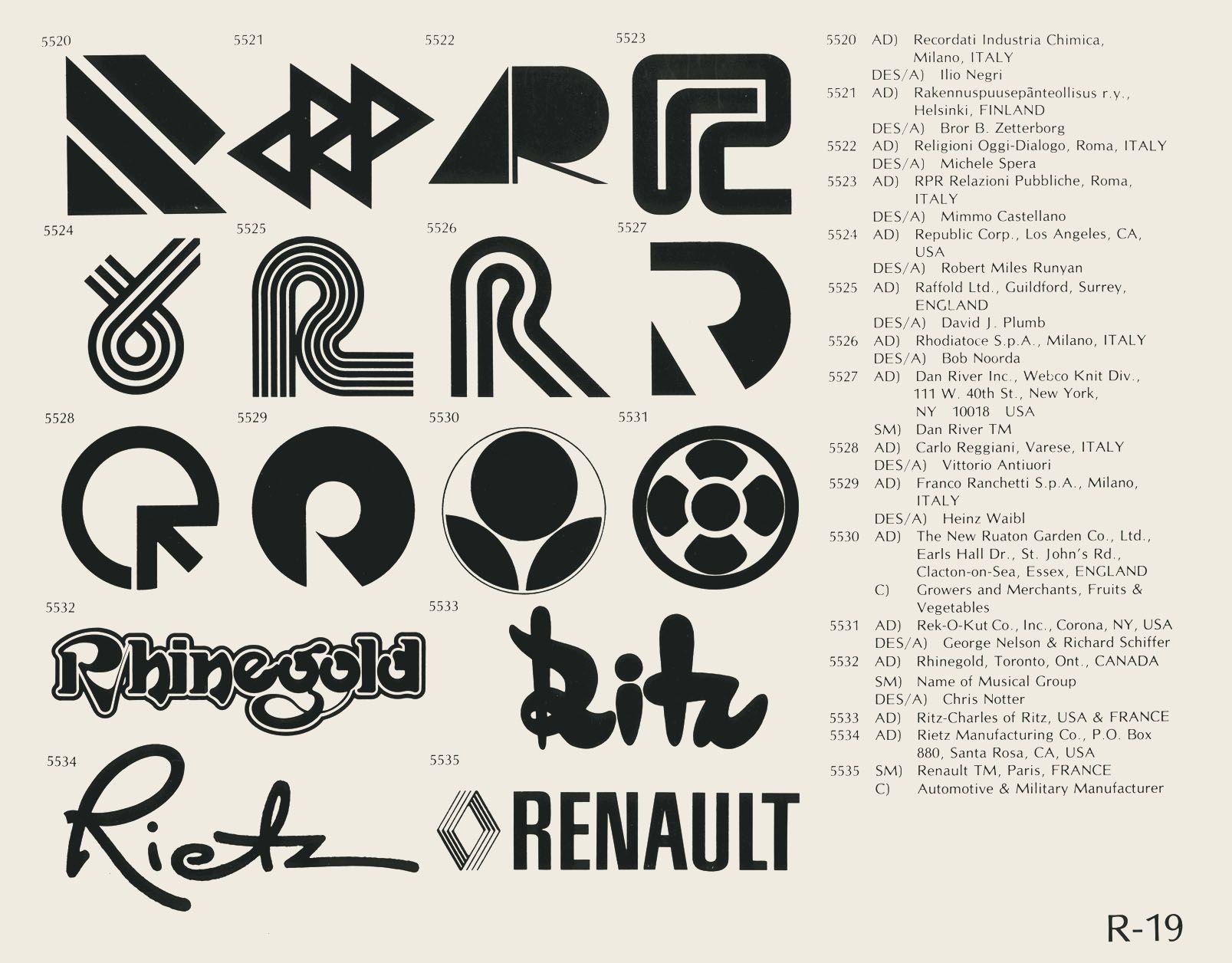 R 19 logos trademark symbol and minimal logo eric carl buycottarizona Choice Image