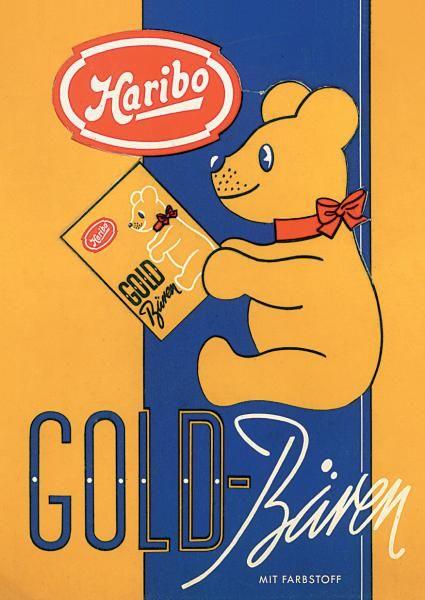 Seit 90 Jahren Weltweit In Aller Munde Das Kultprodukt Haribo Goldbaren Feiert Geburtstag Bild In 2020 Alte Werbung 90er Jahre Bilder