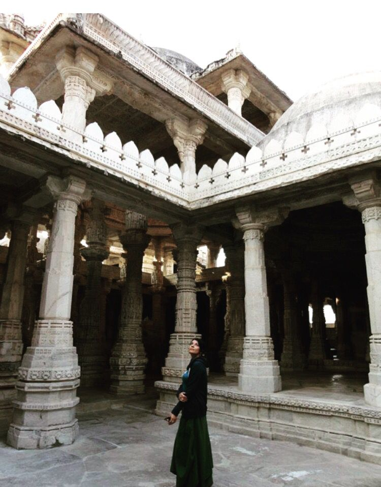 Ranakpur jain temple, near Udaipur city in Rajasthan, India. Superb Architecture beautiful temple. Spare @ least 2-3 hours to get the full experience... 10-15 minutes Meditation is a must