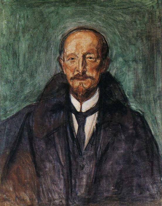 Albert Kollmann 1902 - by Edvard Munch