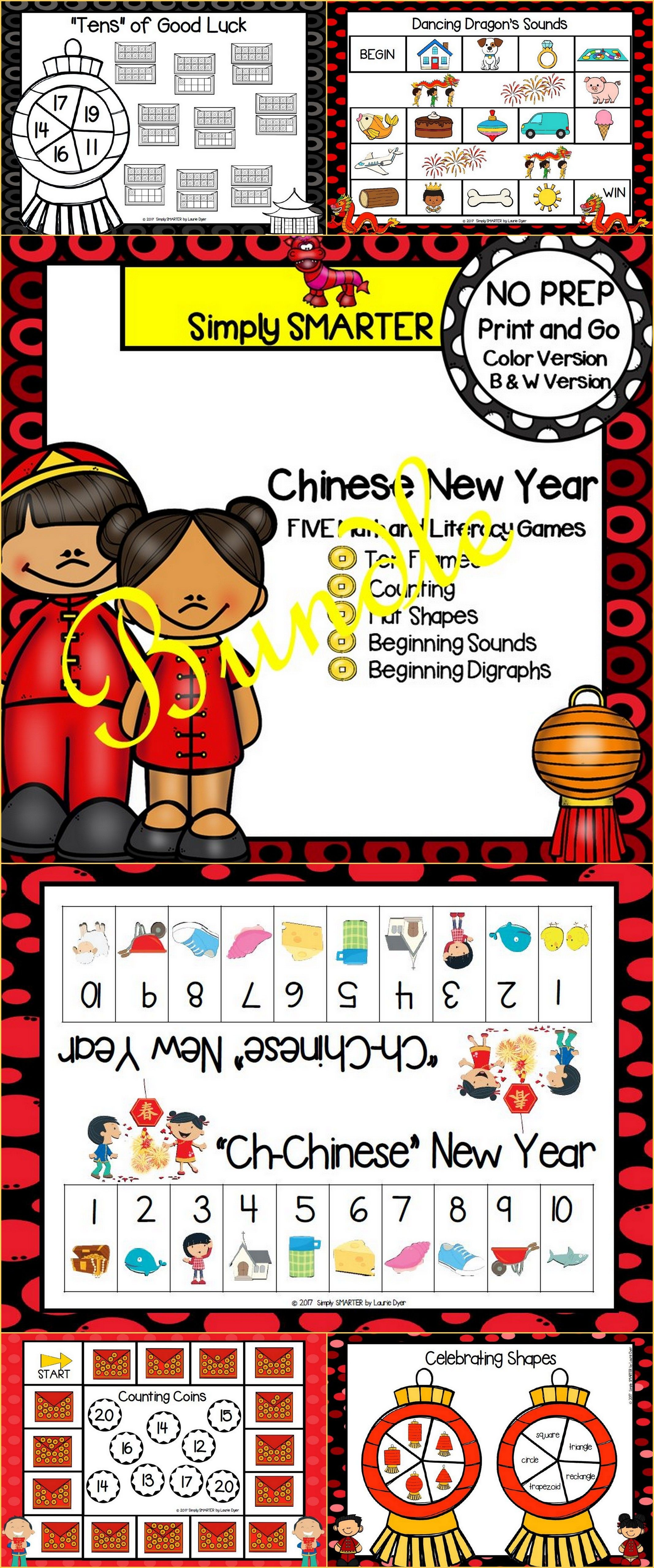 Are you looking for NO PREP literacy and math games for preschool ...