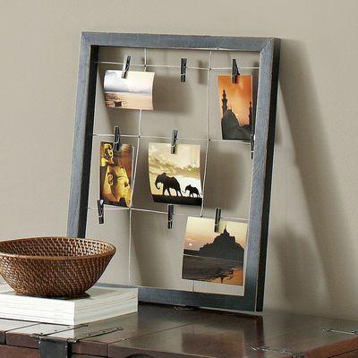 Window Clip Frame - Black $23.96 For laundry room... \